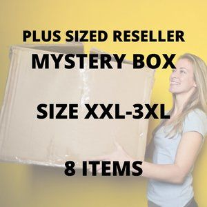 PLUS SIZE Reseller Mystery Box (8 Items for $60!)